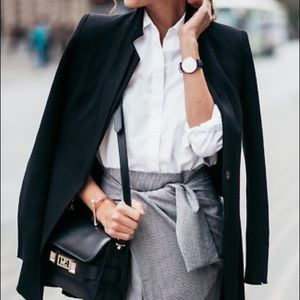 ❗️SOLD OUT ❗️ Zara Inverted Lapel Blazer Coat